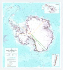 Antarctica - with claims