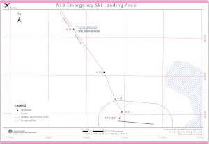 Casey-Wilkins A19 Emergency Ski Landing Area