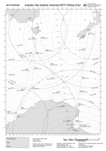 Australia, New Zealand, Antarctica EDTO Plotting Chart