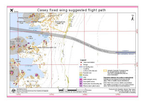 Casey fixed wing suggested flight paths