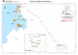 Casey to Wilkins Aerodrome