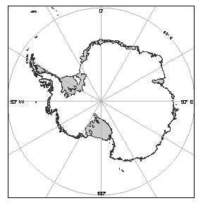 Antarctica [Black and white]
