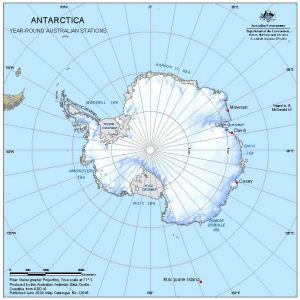 Antarctica<br> Year-Round Australian Stations