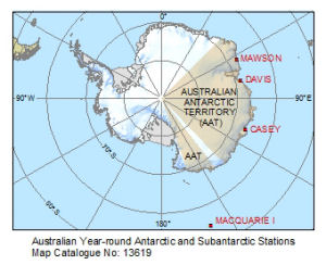 Australian Year-round Antarctic and Subantarctic Stations