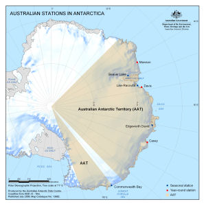 Australian Stations in Antarctica
