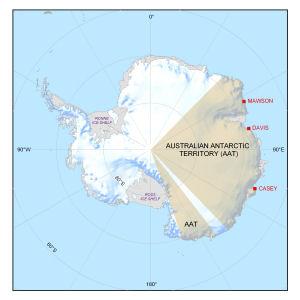 Australian Antarctic year-round stations
