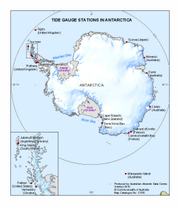 Tide Gauge Stations in Antarctica