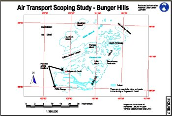Air Transport Scoping Study - Bunger Hills