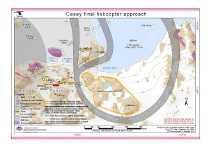 Casey final helicopter approach (Helicopter Operations)