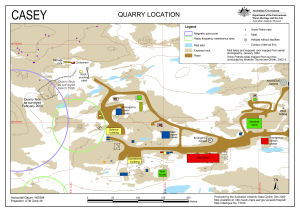 Casey Quarry Location