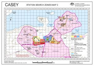 Casey: Station Search Zones Map 2