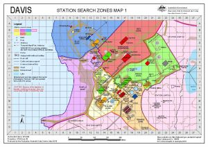 Davis: Station Search Zones Map 1