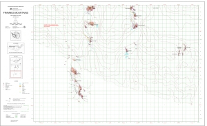Framnes Mountains, MacRobertson Land, Antarctica.  Sheet 3