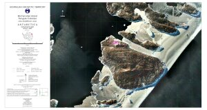 Bechervaise Island Penguin Colonies : Orthophoto map