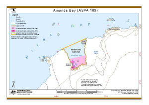 Amanda Bay (ASPA 169) (Helicopter Operations)