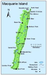 Macquarie Island Map Map Catalogue   AADC Macquarie Island Map