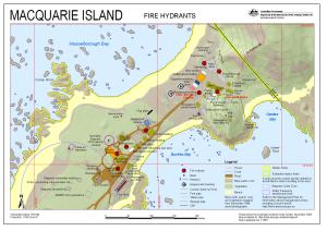 Macquarie Island Fire Hydrants