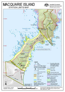 Macquarie Island: Station Limits