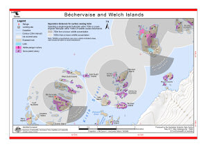 Béchervaise and Welch Islands (Helicopter Operations)