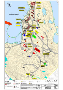 Annex B: Mawson Station Spill Risk Assessment Map<br>