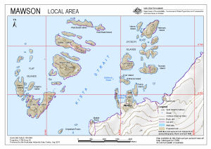 Mawson : Local Area
