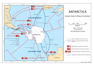 Antarctica : Antarctic Search and Rescue Coordination