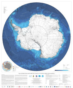 The International Bathymetric Chart of the Southern Ocean (IBCSO)