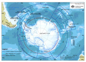 Antarctica and the Southern Ocean Map Catalogue AADC