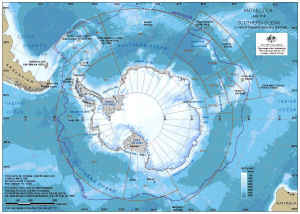 Antarctica and the Southern Ocean : CCAMLR statistical reporting subareas [A4]