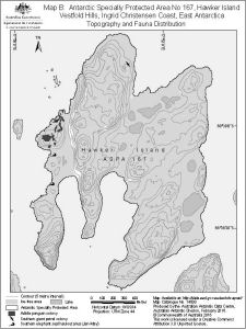 Antarctic Specially Protected Area No 167<br>