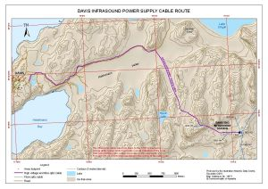 Davis Infrasound Power Supply Cable Route