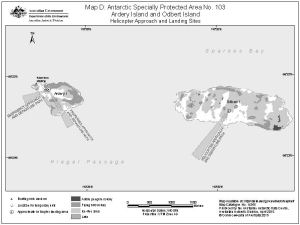 Antarctic Specially Protected Area No. 103<br>