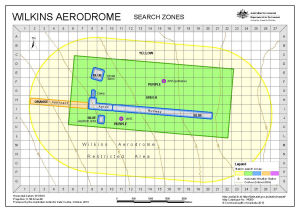 Wilkins Aerodrome Search Zones