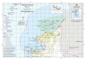 Windmill Islands : Map 1 of 5