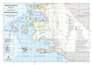 Windmill Islands : Map 2 of 5