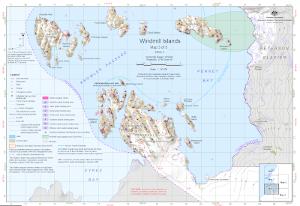 Windmill Islands : Map 3 of 5