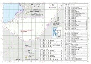 Windmill Islands : Map 4 of 5